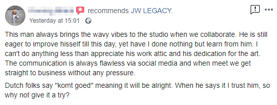 Review of JW LEGACY