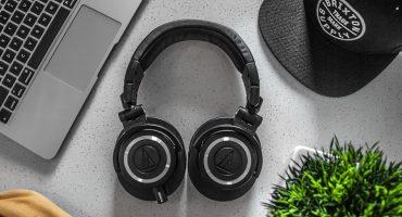 Headphones, Cap & Laptop